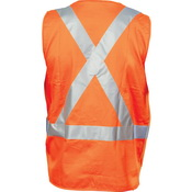 DNC Day/Night 100% Cotton Cross Back Safety Vests