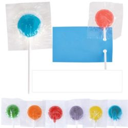 Assorted Colour Lollipops