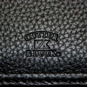 Cutter & Buck A4 Zippered Leather Compendium