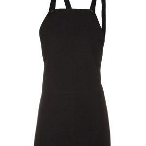 JB's-Wear-5ACBE-Cross-Back-65x71-BIB-Canvas-Apron-Black