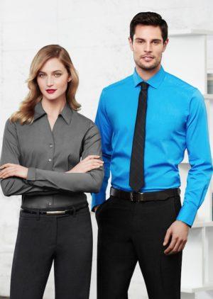monace-mens-ladies-long-sleeve-business-shirt
