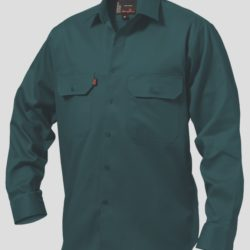 k04010_kinggee-open-front-drill-ls-shirt-green