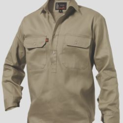 k04020_kinggee-closed-front-drill-ls-shirt-khaki