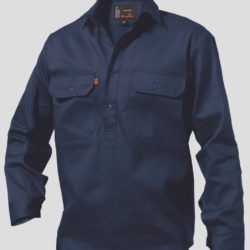 k04020_kinggee-closed-front-drill-ls-shirt-navy