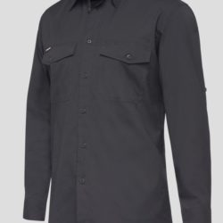 k14820-kinggee-workcool-2-ls-shirt-charcoal