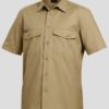 k14825-kinggee-workcool-2-ss-shirt-khaki