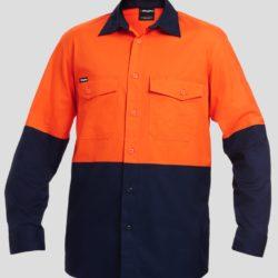 k54870-kinggee-workcool-2-spliced-ls-shirt-orange-navy