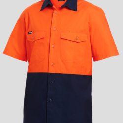 k54875-kinggee-workcool-2-spliced-ss-shirt-orange-navy