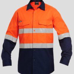 k54880-kinggee-workcool-2-reflective-spliced-ls-shirt-orange-navy