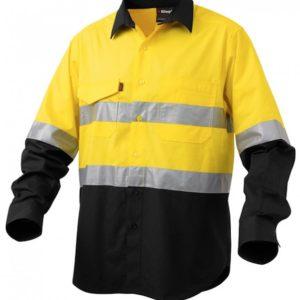 k54880-kinggee-workcool-2-reflective-spliced-ls-shirt-yellow-black