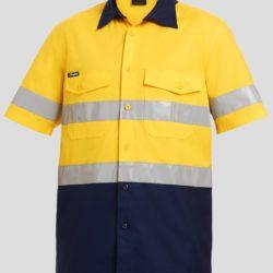 k54885-kinggee-workcool-2-reflective-spliced-ls-shirt-yellow-navy