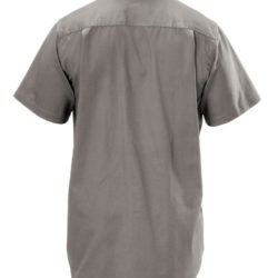 y07510-hard-yakka-foundations-cotton-drill-ss-shirt-grey-back