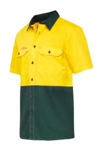 Hard Yakka Koolgear Ventilated Hi Vis S/S Shirt Y07725