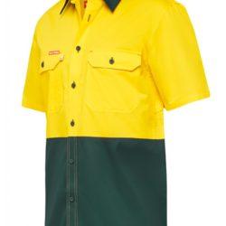 Hard Yakka Koolgear Ventilated Hi Vis S/S Shirt Y07725