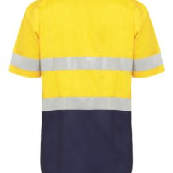 y07735-hard-yakka-koolgear-ventilated-hi-vis-ss-shirt-with-tape-yellow-navy-back