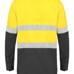 y07740-hard-yakka-koolgear-ventilated-hi-vis-ls-shirt-with-tape-yellow-charcoal-back