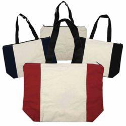 cb007-calico-zip-shopper-bag-group