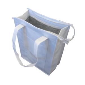 Non Woven Cooler Bag with Top Zip Closur