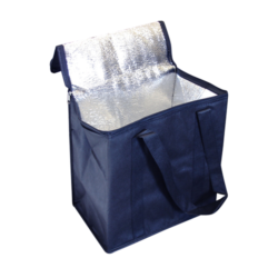 Non Woven Cooler Bag with Zipped Lid