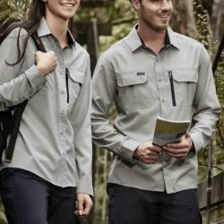 ZW460 Syzmik Mens Outdoor L/S Shirt