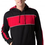 Panel Front Hoodies; Adults-Kids