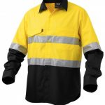 KingGee Workcool 2 Reflective Spliced L/S Shirt