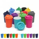 Cup 2 Go 356ml Double Wall Colour Cup