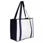 Non Woven Large Zippered Shopping Bag