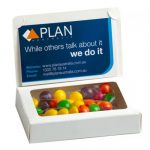Bizcard Box with 50g Skittles