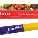 Personalised Cadbury 55g Milk Chocolate Roll