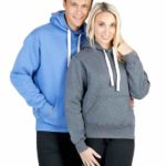 Brushed Heavy Fleece Hoodies; Mens-Ladies-Kids