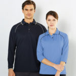 Cool Dry Men's L/S and Ladies 3/4 Sleeve Polo