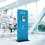 Automatic Hand Sanitiser Dispenser Stand
